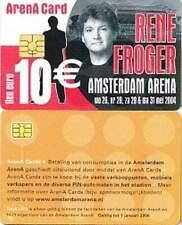 Arenakaart A056-02 10 euro: Rene Froger