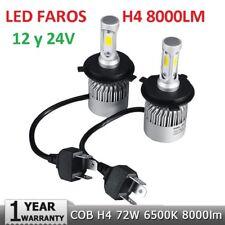 Kit Led Faros H4,H13 37W 8000LM 6500K 9-32V 2 Años