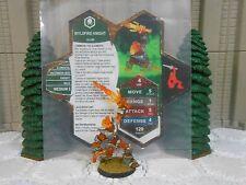 Heroscape Custom Wyldfire Knight Double Sided Card & Figure w/ Sleeve Ullar