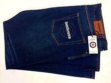 """Mens Lambretta Denim Jeans Mid Wash Size 40l Waist 40"""" Inside Leg 34"""""""