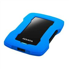 ADATA HD330 1TB USB 3.1 Shock-Resistant Extra Slim Xbox & PS4 External HD Black