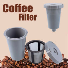 For My Replacement Coffee Keurig K-Cup Reusable Filter Mesh Set Gray Kitchen