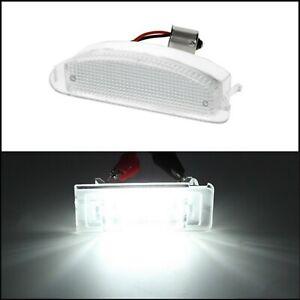 LAMPADINE LUCI TARGA A LED RENAULT CLIO II   TWINGO I art.71603