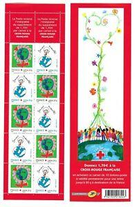 Carnet Timbres France Neufs 2006 N°BC3991 - Croix Rouge - Dessine ton Vœu