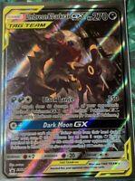 FULL ART Umbreon & Darkrai GX ULTRA RARE Tag Team SM241 Pokemon Holo Promo - LP