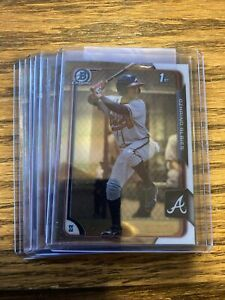2015 Bowman Chrome Prospects Ozzie Albies 1st Card RC Ozhaino Braves Rookie 71