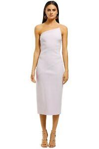 Pre Loved Bec and Bridge Araia Asymmetric Midi Dress Size 10