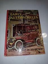 1961 Early Automobiles by Eugene Rachlis Golden Press Hardcover
