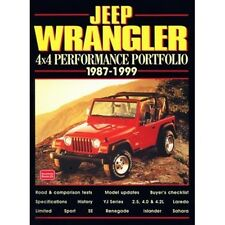 JEEP Wrangler 4X4 Performance PORTFOLIO 1987-1999 BOOK LIBRO
