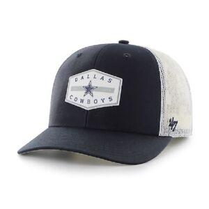 Dallas Cowboys '47 Convoy Navy Trucker Mesh Snapback Hat
