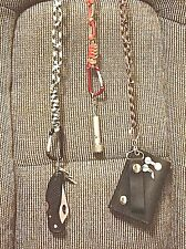 "MOTORCYCLE CHAIN FOR WALLET,KEYS PHONE,KNIVES PARACORD  22"" To 24"""