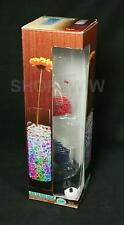 Glass vase With Color-Changing LED Lights And Color Beads New