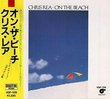 CHRIS REA On The Beach +3 FIRST PRESS JAPAN CD OBI VDP-1119