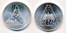 Deutschland 10 € Euro Silber 2009 100 Jahre Jugendherbergen unz.-bfr.