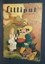 """Revue anglaise """"Lilliput"""" October 1947 Vintage photos, gags, illustrations ..."""