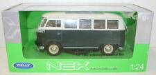 Welly NEX 1/24 Scale 22095W - 1962 Volkswagen VW Classics Bus Green