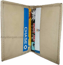 Leather business card credit card case ID card ATM card case card holder BNWT