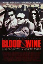 BLOOD AND WINE MOVIE POSTER 1 Sided ORIGINAL 27x40