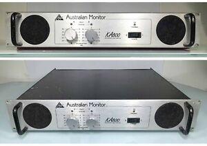 Australian Monitor PA800 - 2 Channel Power Amplifier - 400W / Channel - SN:A7678