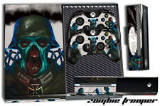 Designer Skin for XBOX ONE 1 Gaming Console +2 Controller Stickers Decal ZOMBIE