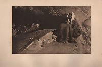 1901 Studio Aufdruck ~ The Temptation Von St.Anthony Von Domenico Morelli