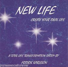 NEW LIFE I: CREATE YOUR IDEAL LIFE - Fredrik Karlsson Audio CD)