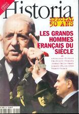 Historia 600 / Grands hommes du XXe  / Jaures / Abel Gance