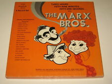 THE MARX BROS. - 4 LP BOX SET - ORIGINAL RADIO BROADCASTS