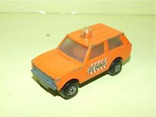 RANGE ROVER POLICE PATROL SITE ENGINER MATCHBOX LESNEY