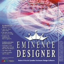 Eminence Designer Software Free Shipping!! Authorized Distributor!!!