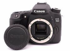 Canon EOS 70D 20.2MP Digital SLR Camera - Black (Body Only) - Shutter Count: 687