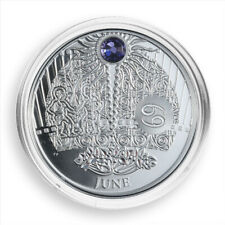 Niue 2013 1$ JUNE The Magic Stones of Happiness Proof silver Coin