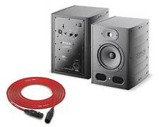 Focal Alpha 65 Studio Monitors | Stereo Pair, Left/Right | Pro Audio La