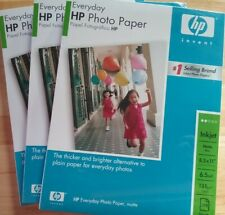HP Matte Photo Paper 8 x 10 Inches (300 Sheets) 36lbs, 6.5 mi lot