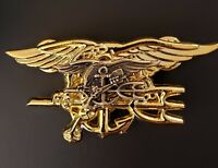US Navy MINI SEALS Special Warfare SEAL Team Trident Insignia Pin Double Stack