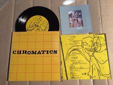 "CHROMATICS / DIE!!! MONITR BATS - SPLIT - 4-TRACK-7""-SINGLE (BU166)"