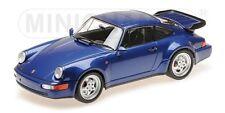 Minichamps 155069101 Porsche 911 Turbo (964) 1990 blaumetallic 1:18 NEU/OVP