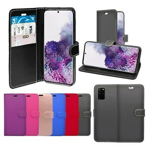 Case For Samsung Galaxy S20 Plus 5G Wallet Flip PU Leather Stand Card Slot Cover