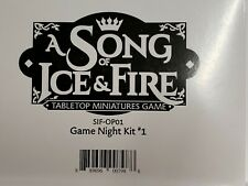A Song of Fire and Ice Game Night Kit #1 - Full Box -