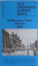 Old Ordnance Survey Detailed Maps Stoke upon Trent South  1898 Sheet 18.05