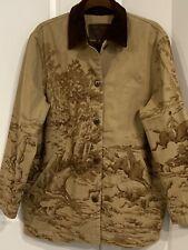 New listing Lauren by Ralph Lauren Vintage Equestrian Barn Coat, Medium Women's Jacket