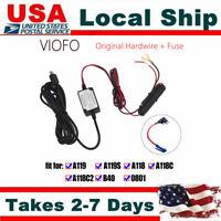 Car Dash Cam Hardwire Adapter+Fuse Set Fr VIOFO A119 A119S A118 Mini DVR Vehicle