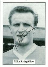 Mike Stringfellow - LEICESTER CITY - Signed Popular Footballers Card