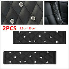 2 Pcs Car Seat Belt Covers for Tesla Model 3 S X Carbon Fibre Embroidered Shoulder Pads Automotive Interior Modeling Accessories