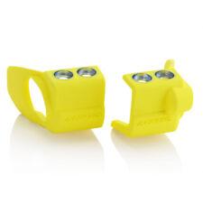 Acerbis Mx Inferior Cubierta De Zapatos De Horquilla (Par) - Suzuki RMZ250/450 09-18 - Amarillo