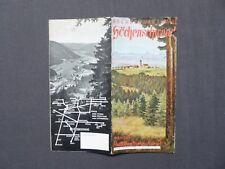 Reiseprospekt Kurort Höchenschwand im Hochschwarzwald, LFV Baden 1939