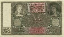 Niederlande / Netherlands Pick 51c 100 Gulden 1944 (1)