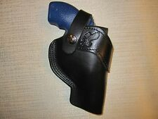 "Ruger sp101 with  2.25"" barrel revolver belt holster with adjustable strap"