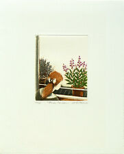 Annapia Antonini, Fines herbes, Colour Etching, Handsigned, numbered, titled