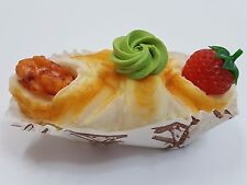 SOUVENIR 3D Sponge Replica Fridge Magnet Strawberry Walnut Cake Pastry Cupcake